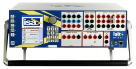 ISA DRTS 33 Relay Test System and Power System Simulator, 3 Current / 3 Voltage Outputs, Local Control