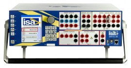 ISA DRTS 34 Relay Test System and Power System Simulator, 3 Current / 4 Voltage Outputs
