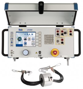 ISA eKam Automatic Primary Injection Test System & BUX 3000 External High Current Booster, 3000A