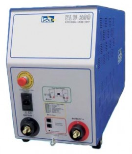 ISA ELU 200 External Load for the BTS 200 Battery Test System