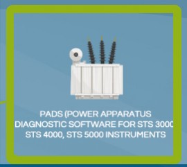 ISA PADS-P Power Apparatus Diagnostic Software for the STS Series, Primary