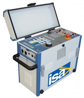 ISA STS 4000 Multifunction Substation Test System with High and Low Voltage Outputs