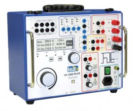 ISA TD 1000 PLUS 230V Protective Relay Test Set, 230V