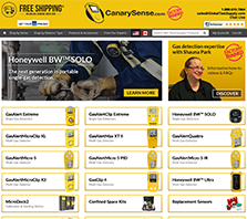 CanarySense.ca - Your Source for Gas Detection Equipment