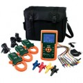 Extech 382100 Three-Phase Power Analyzer/Datalogger, 1200A-